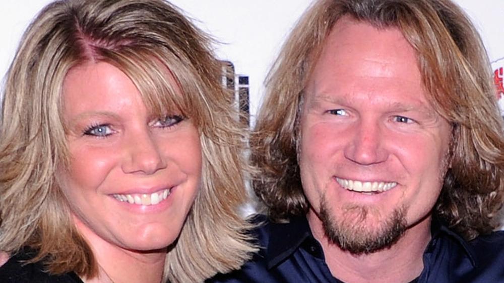 Meri Brown and Kody Brown smiling
