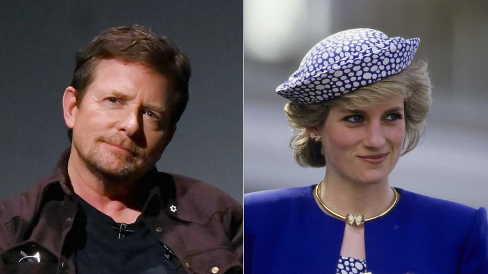 Michael J. Fox at 2019 Tribeca Film Festival; Princess Diana in Canada in 1986