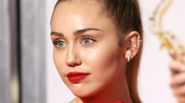 Miley Cyrus Isn't It Romantic Premiere