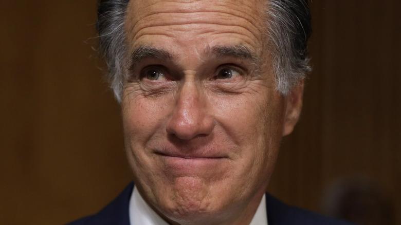 Mitt Romney smiling