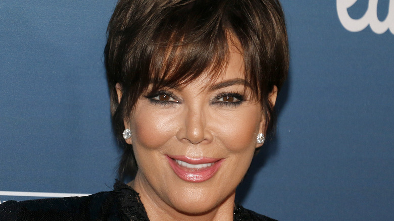 Kris Jenner on the red carpet at charity event