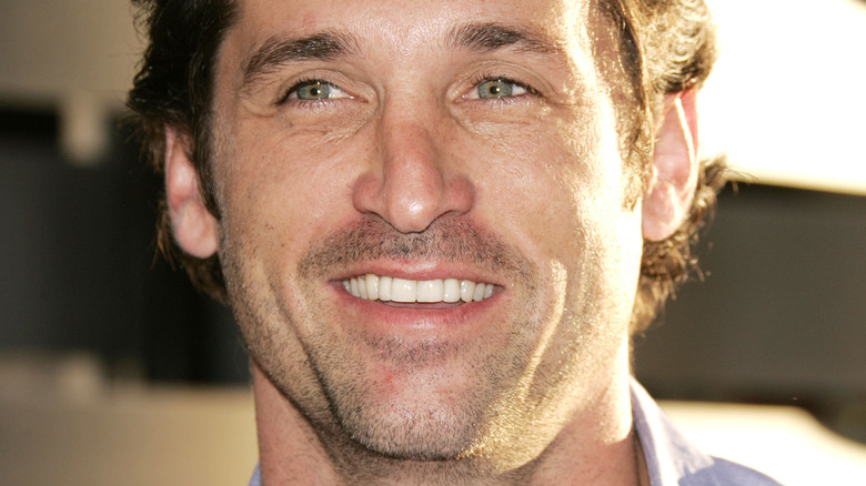Patrick Dempsey smiles on the red carpet