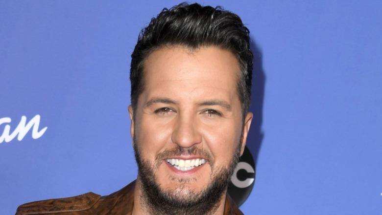 Luke Bryan attending American Idol premiere