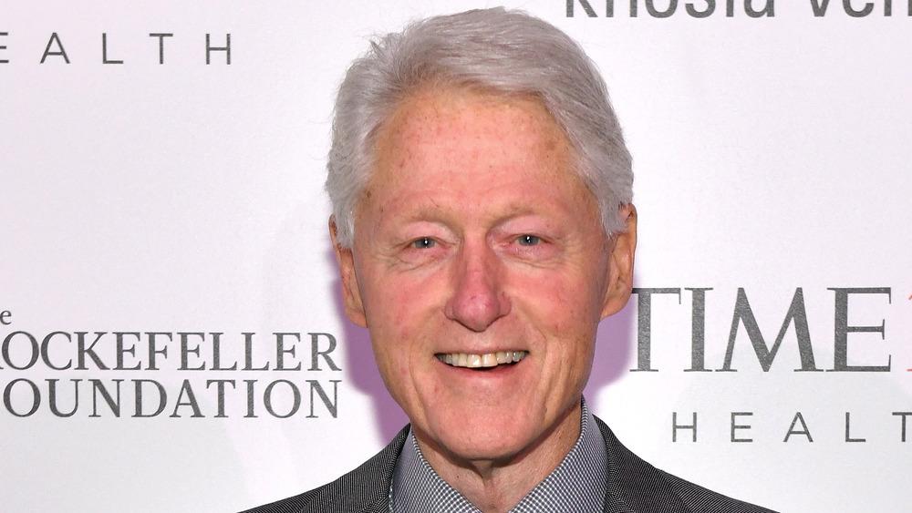 Bill Clinton smiling