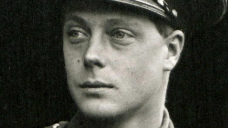 Prince Edward in military uniform in 1926.