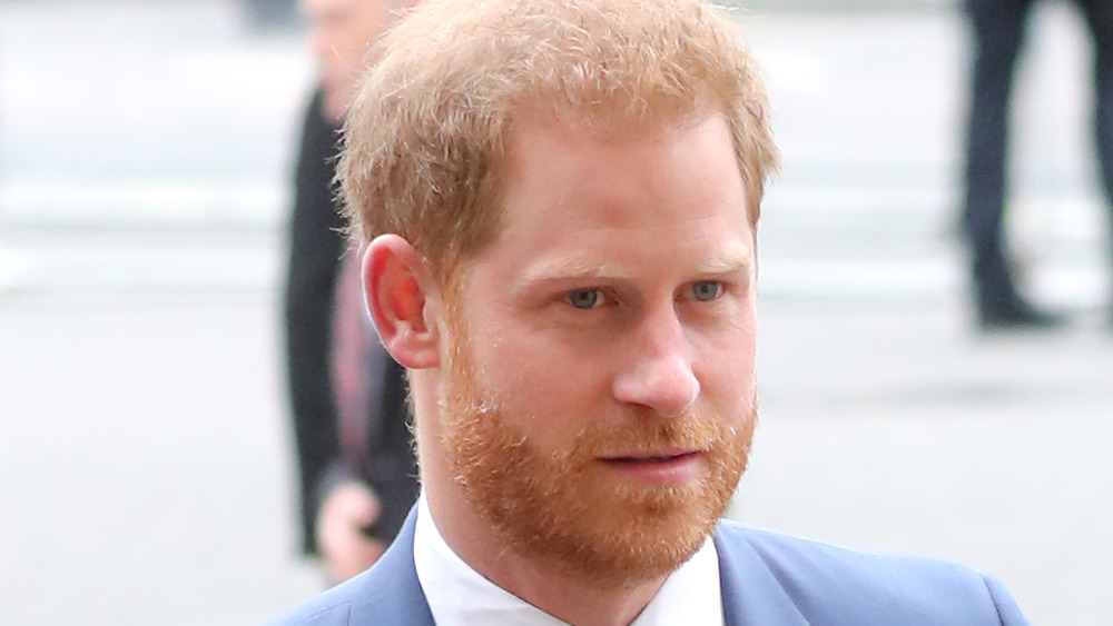 Prince Harry at a public appearance