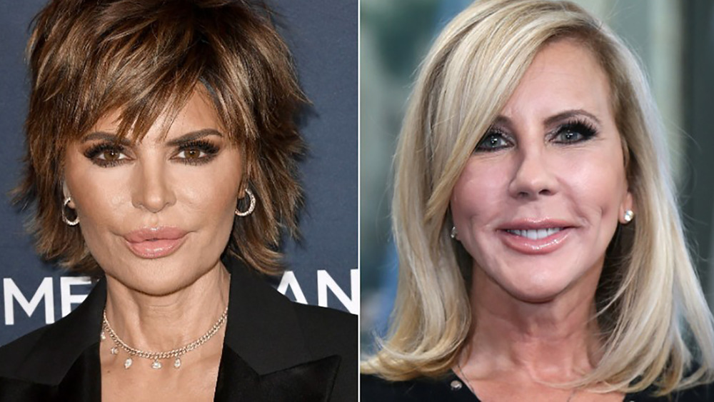Side by side photos of Lisa Rinna and Vicki Gunvalson