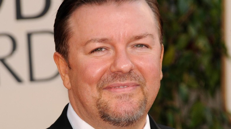 Ricky Gervais smiling