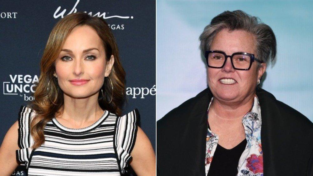 Giada De Laurentiis and Rosie O'Donnell