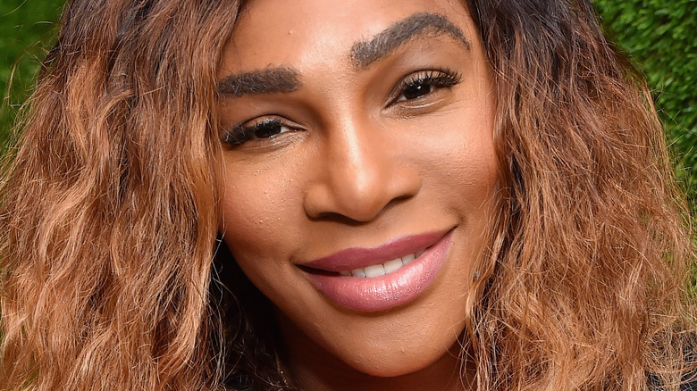 Serena Williams smiling
