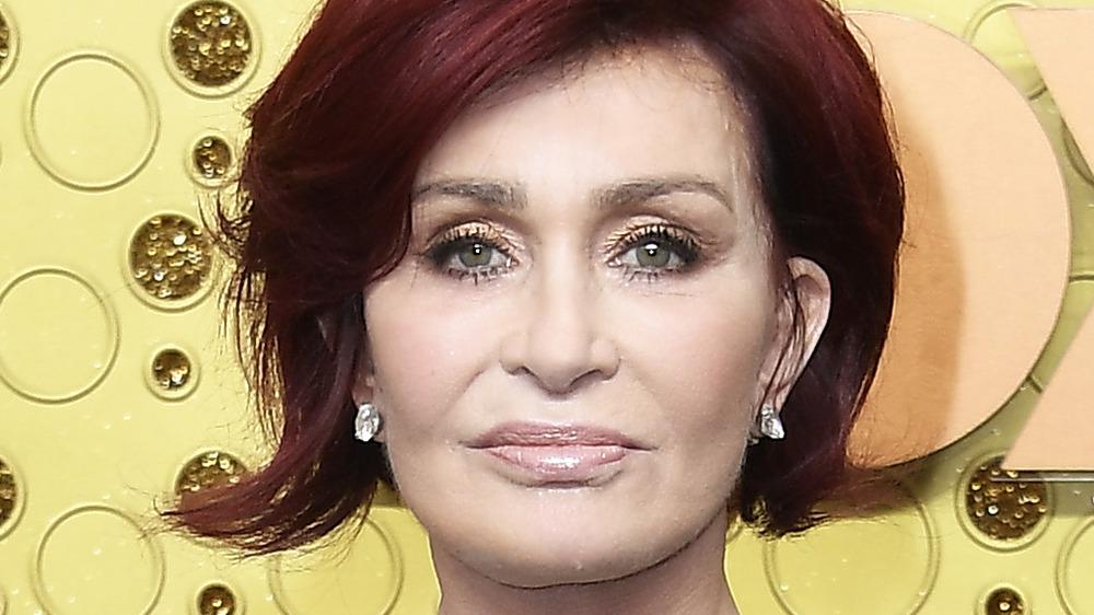 Sharon Osbourne at the Emmys