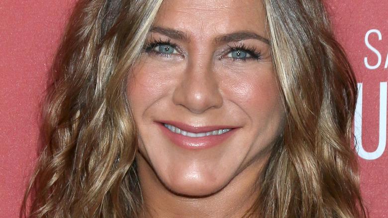 Jennifer Aniston at a movie premiere
