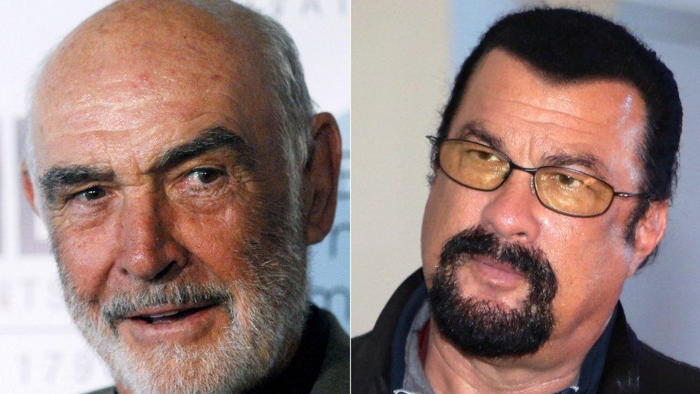 Sean Connery, Steven Seagal