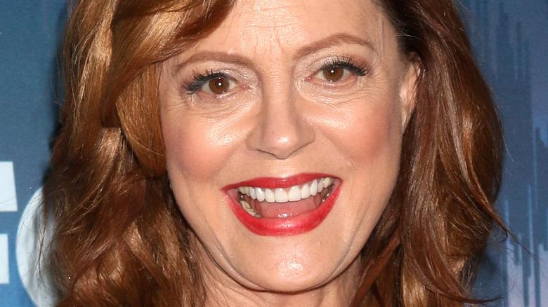 Susan Sarandon smiling