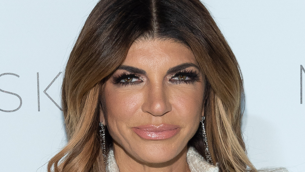 Teresa Giudice staring at the camera