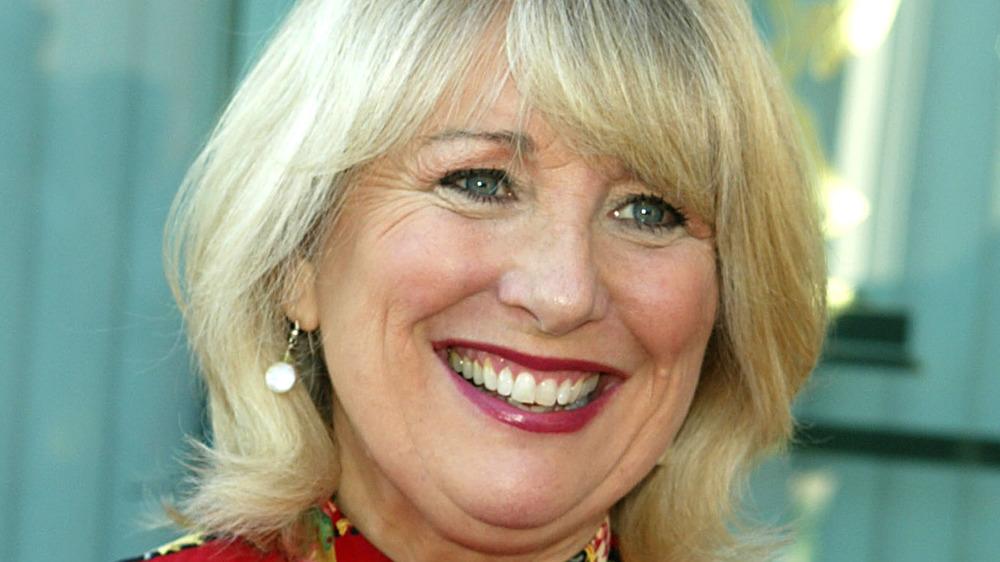 Teri Garr smiling
