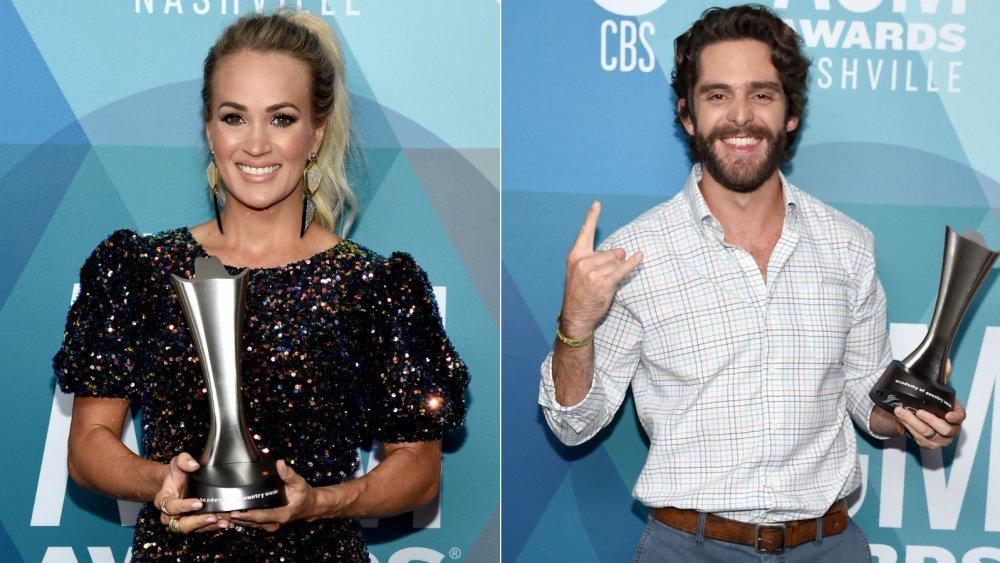 Carrie Underwood and Thomas Rhett