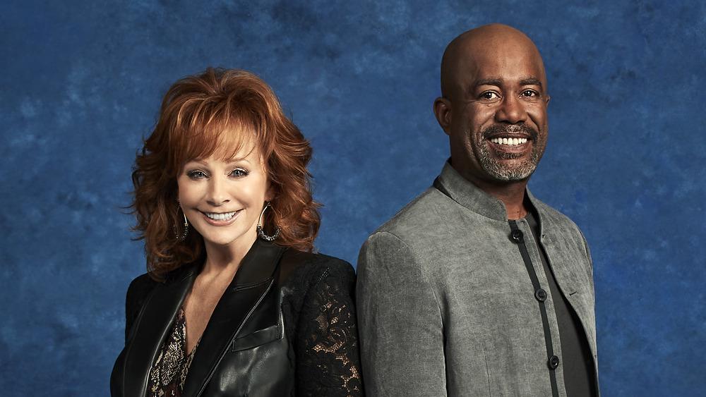 Reba McEntire and Darius Rucker