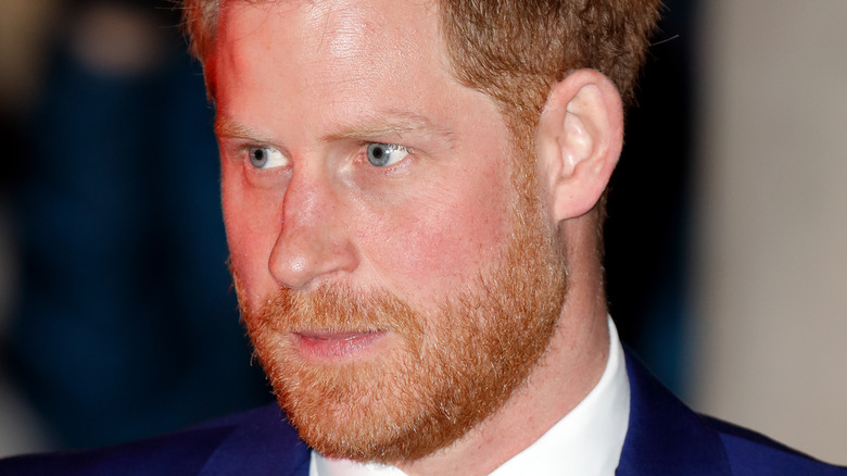 Prince Harry attending a royal event