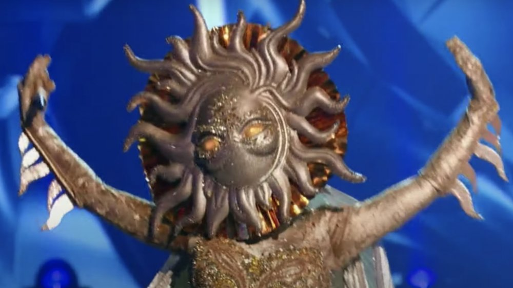 The Sun on The Masked Singer