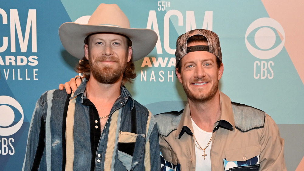 Brian Kelley and Tyler Hubbard smiling