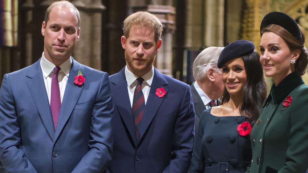 Prince William, Prince Harry, Megan Markle, Kate Middleton