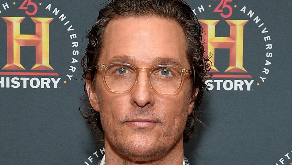 Matthew McConaughey on the red carpet