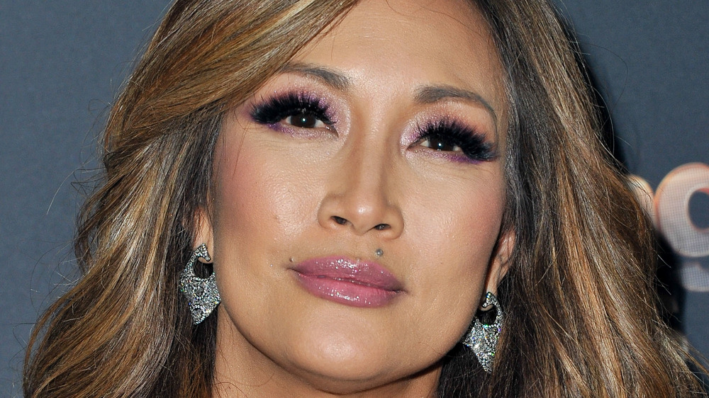Carrie Ann Inaba smirking