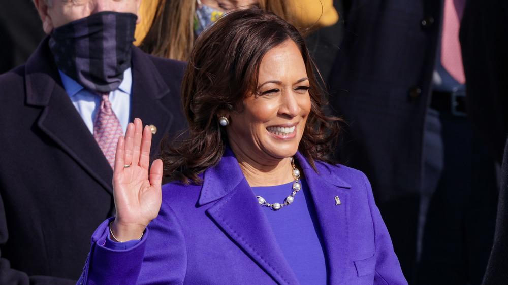 Vice President Kamala Harris on Inauguration Day