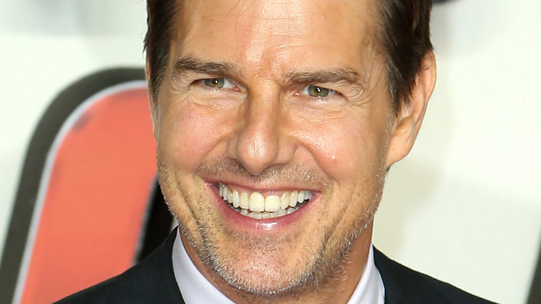 Tom Cruise in at Mission Impossible premeire