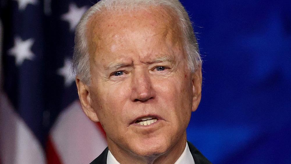 Joe Biden talking