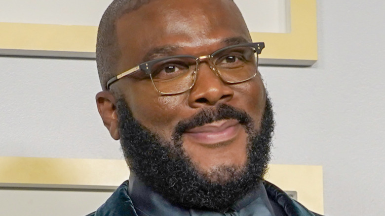 Tyler Perry during the 2021 Oscars
