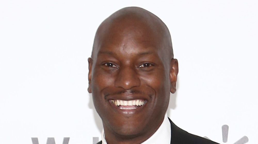 Tyrese Gibson grinning