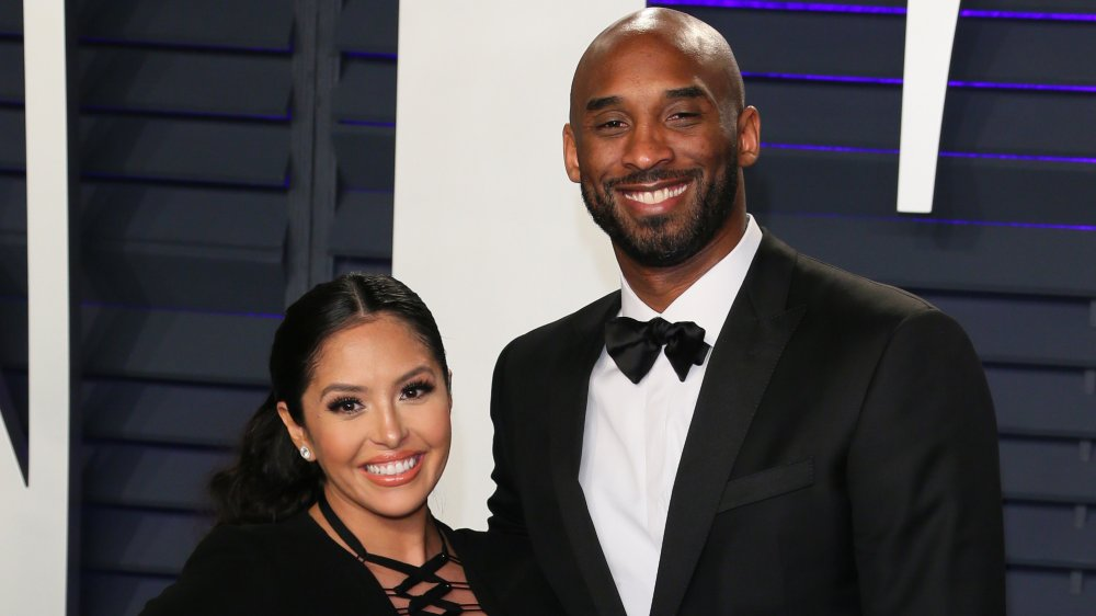 Kobe Bryant and wife Vanessa Laine Bryant attend the 2019 Vanity Fair Oscar Party