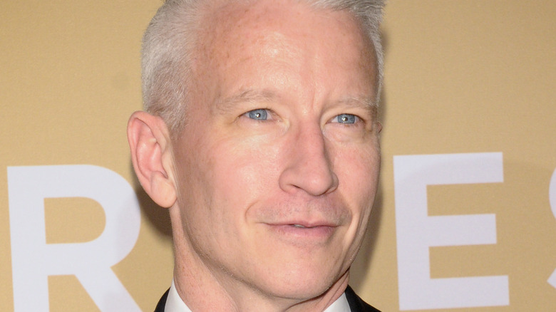 Anderson Cooper red carpet