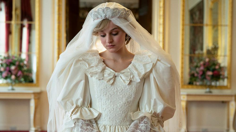 Emma Corin as Princess Diana on The Crown