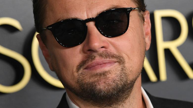 Leonardo DiCaprio in sunglasses