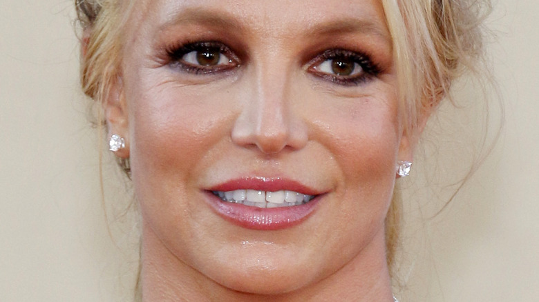 Britney Spears at premiere of 'Once Upon a Time In Hollywood' in 2019