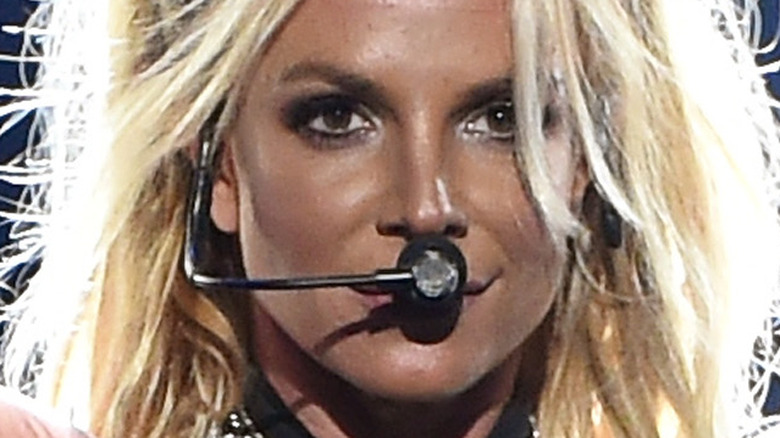 Britney Spears microphone