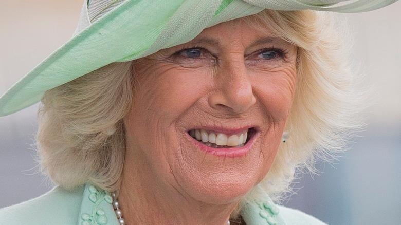 Camilla, Duchess of Cornwall, smiling