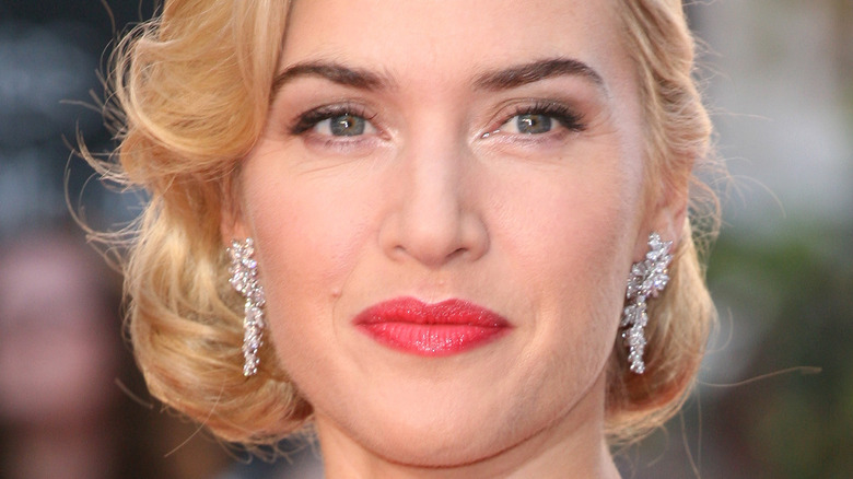 Kate Winslet on the red carpet in 2012