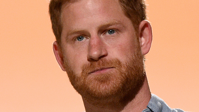 Prince Harry at event