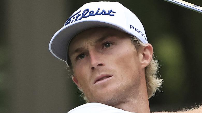 Will Zalatoris golfing at event