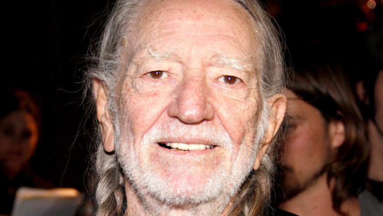 Willie Nelson smiling
