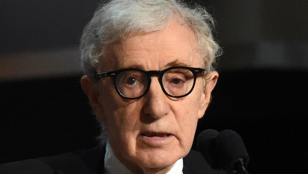 Woody Allen closeup