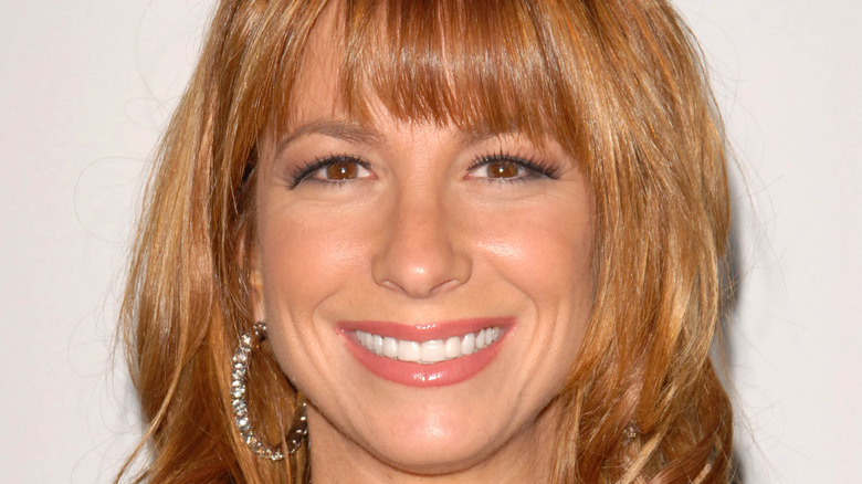 Jill Zarin smiles on the red carpet