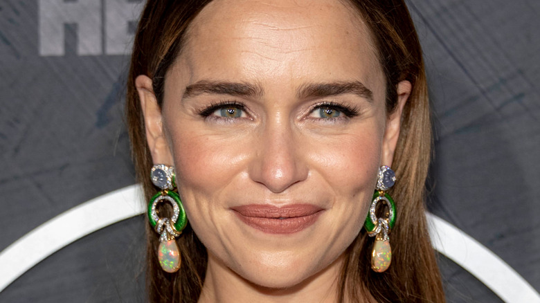 Emilia Clarke posing