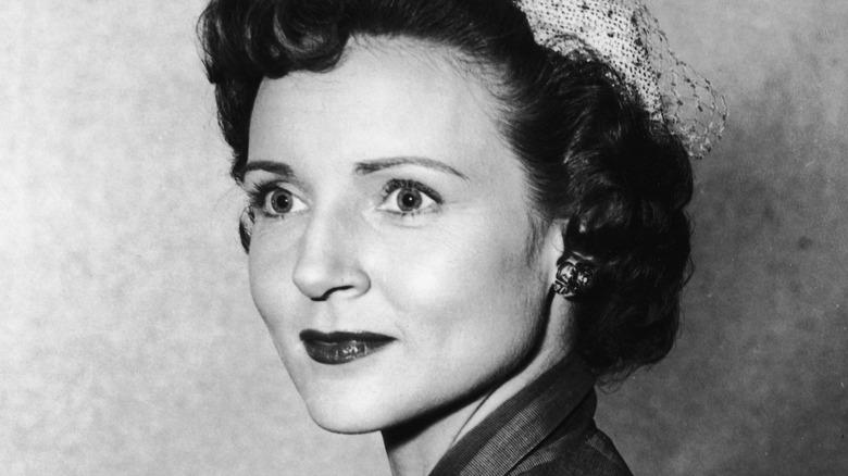 Betty White smiling, 1955