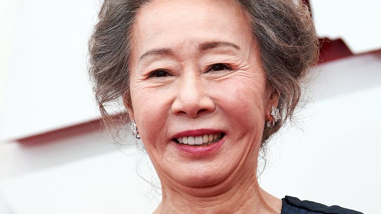 Yuh-Jung Youn smiling