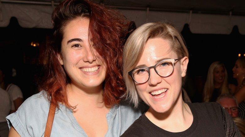 Hannah Hart and Ella Mielniczenko